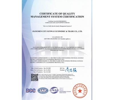 兴维质量管理体系认证证书20211105(英文版)